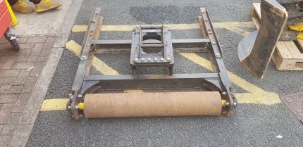 Used - GRB1250 grading beam with extensions (1250mm grading beam) on S30/180 pickup
